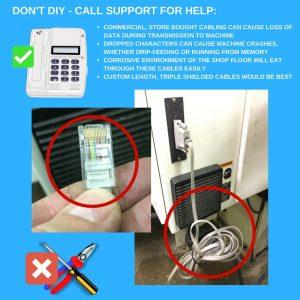 shop floor cabling
