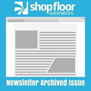 Shop Floor Automations Newsletter