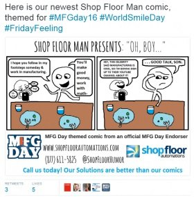 mfg day shop floor man