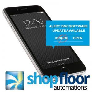 shop floor software updates