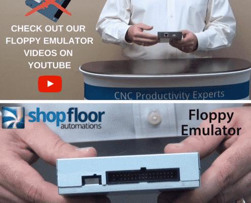 Floppy Emulator YouTube - shop floor automations videos