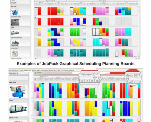 job scheduling planning boards